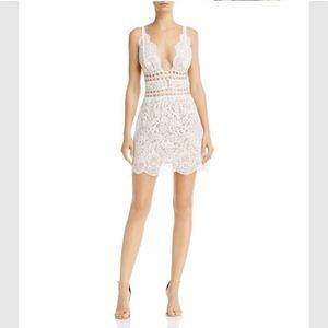 For Love & Lemons Mon Cheri Dress - White